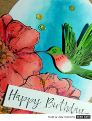 Happy Birthday by Libby Hickson for Hero Arts