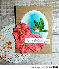 Happy Birthday by Libby Hickson for Hero Arts