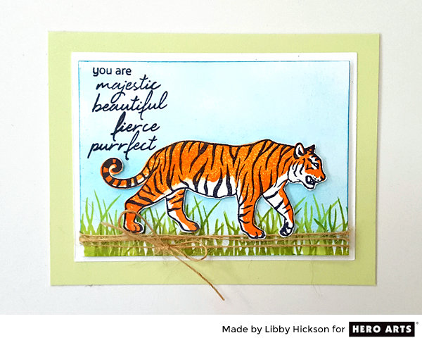 You Are Majestic, Beautiful Fierce Purrfect by Libby Hickson for Hero Arts