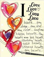 I Love Love Love Love Hearts