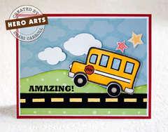 Amazing Bus by Shari Carroll