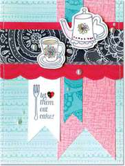 Let them Eat Cake featuring Hero Arts/BasicGrey Paper Cottage Stamps
