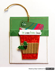 Coffee Gift Card Holder by Libby Hickson for Hero Arts