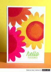 Hello Friend by Sally Traidman for Hero Arts