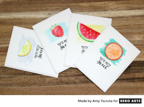 Fruit Salad by Amy Tsuruta for Hero Arts