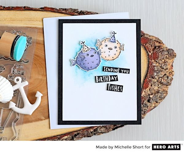 Sending You Birthday Fishes by Michelle Short for Hero Arts
