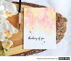 One Layer Watercolor Wash - Michelle Short