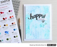 Happy Birthday and Hello Cards by Michelle Short for Hero Arts