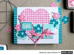 Valentine Post by Jayne Nelson for Hero Arts