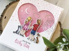 LUCKY STAR LOVE-THEMED CARD