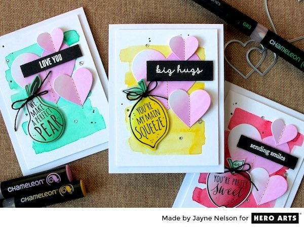 You're My Main Squeeze by Jayne Nelson for Hero Arts