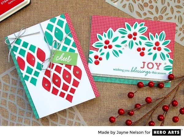 Cheer & Joy by Jayne Nelson for Hero Arts