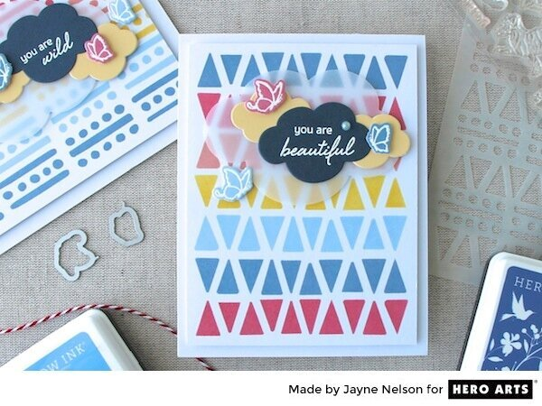 You Are Beautiful by Jayne Nelson for Hero Arts