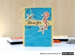 Making Waves by Jayne Nelson for Hero Arts