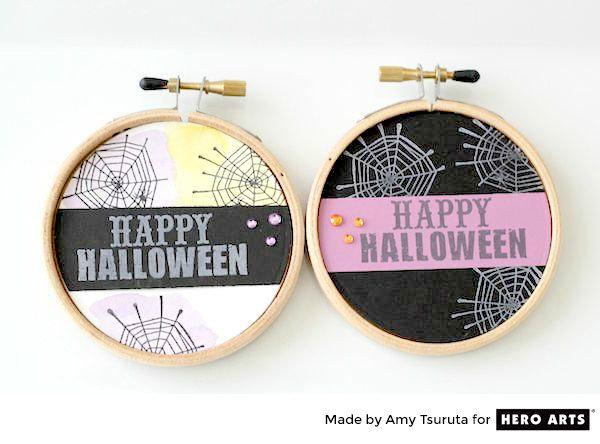 Halloween Hoops by Amy Tsuruta for Hero Arts