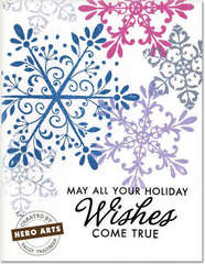 Holiday Wishes by Sally Traidman for Hero Arts