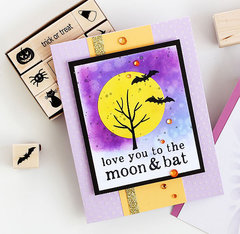 Love You to the Moon & Bat by Lisa Spangler for Hero Arts