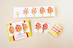 Hero Arts Fall Trees Color Layering Card by Jayne Nelson