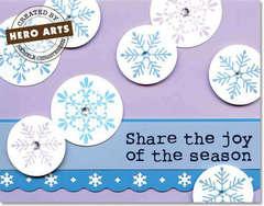 Joy of the Season by Richele Christensen for Hero Arts