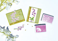 Libby's Color Layering Orchid Cards