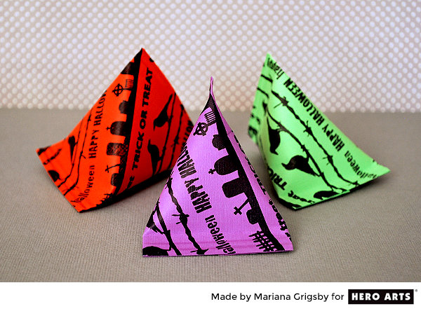 Halloween Candy Bags by mariana Grigsby for Hero Arts