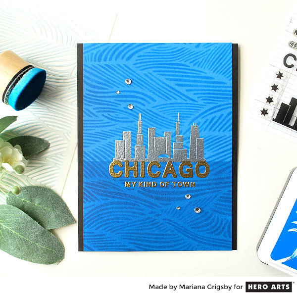 Chicago, My Kind of Town by Mariana Grigsby for Hero Arts