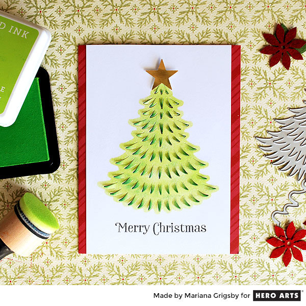 Merry Christmas Card by Mariana Grigsby