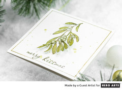 Trio of Christmas Cards by Guest Artist Taheerah Atchia for Hero Arts
