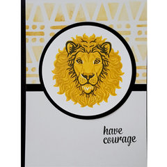 Have Courage Card - Masculine