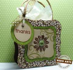 Thanks Hostess Gift Bag by Robin Kabasik