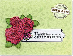 Thanks for being a Great Friend by Lisa Spangler