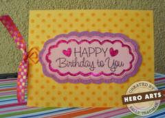 Happy Birthday to You by Sally Traidman