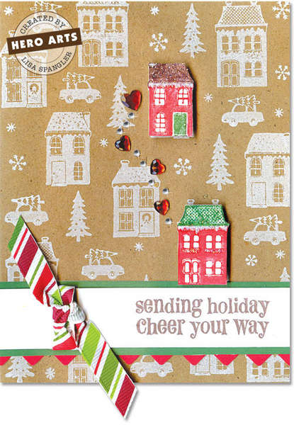 Sending Holiday Cheer by Lisa Spangler