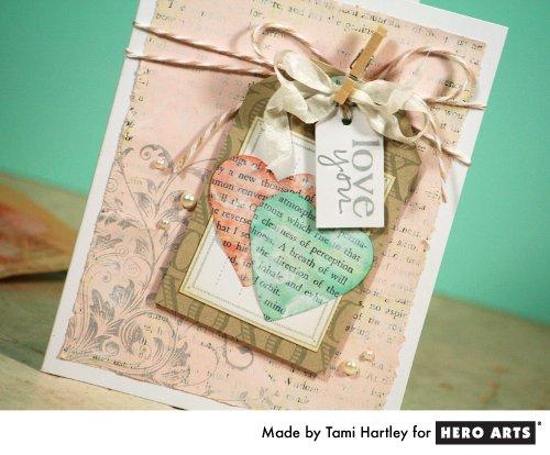 Shabby Chic Hearts by Tami Heartly