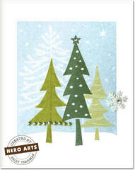 Three Trees by Sally Traidman for Hero Arts