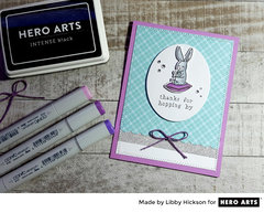 Thanks for Hopping By by Libby Hickson for Hero Arts