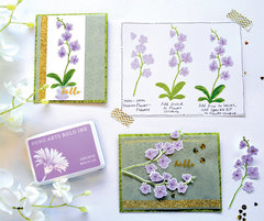 Hero Arts Color Layering Orchid Cards by Libby Hickson