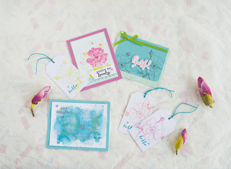 New Spring stamps from Hero Arts