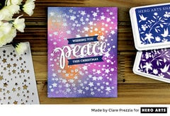 Peace by Clare Prezzia for Hero Arts