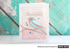 Bright Thanksgiving by Clare Prezzia for Hero Arts