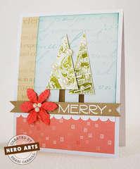 Merry Christmas Trees by Shari Carroll