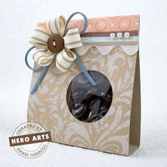 Ribbon Flower Goody Bag by Shari Carroll