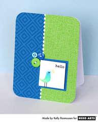 Hello Birdie by Kelly Rasmussen