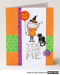 You Scare Me By Sally Traidman