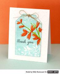 Thank You Flower Branch  By Kelly Rasmussen