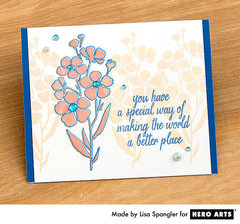 Simple Springtime Stamping  By Lisa Spangler