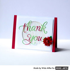 Dauber Thank You by Wida Miller