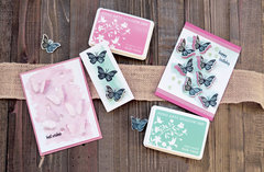 Butterfly Stamps with matching dies