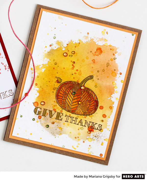 Give Thanks by Mariana Grigsby for Hero Arts
