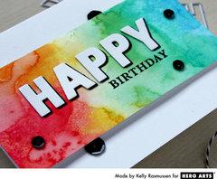 Happy Birthday by Kelly Rasmussen for Hero Arts